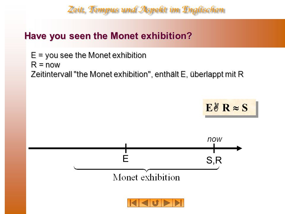 Have you seen the Monet exhibition