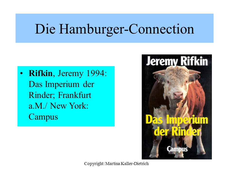 Die Hamburger-Connection