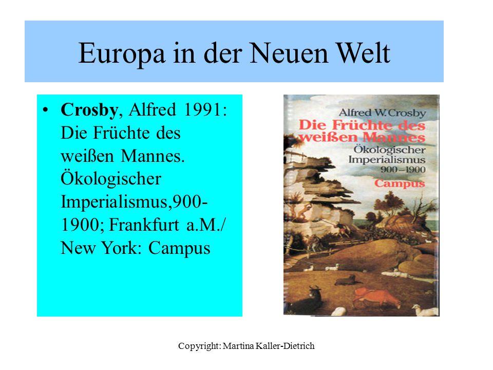 Europa in der Neuen Welt