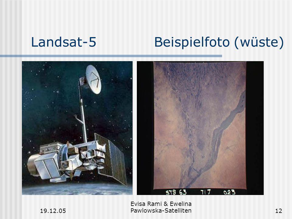 Landsat-5 Beispielfoto (wüste)