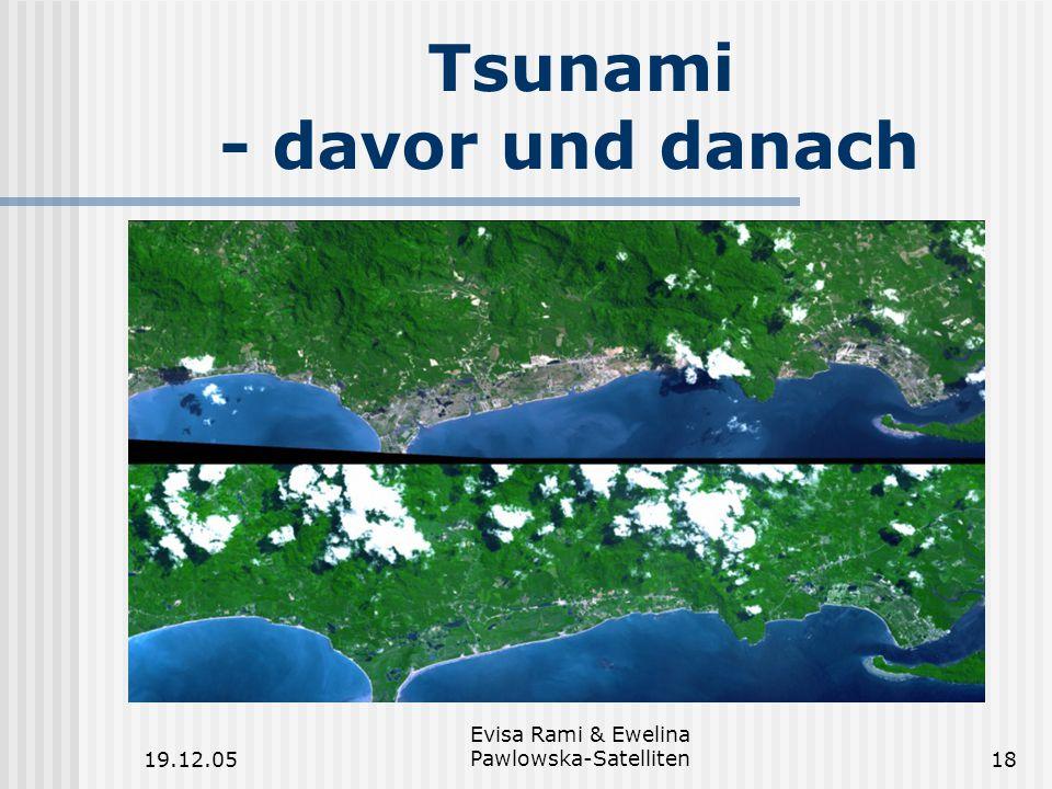 Tsunami - davor und danach