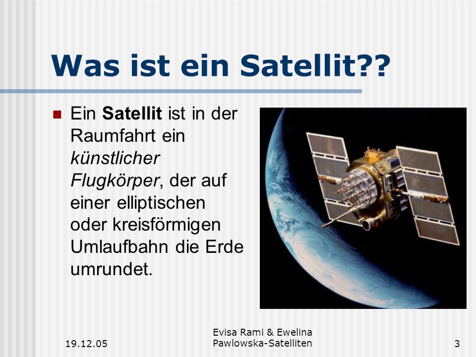 Evisa Rami & Ewelina Pawlowska-Satelliten