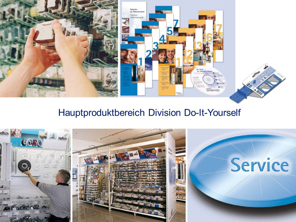 Hauptproduktbereich Division Do-It-Yourself