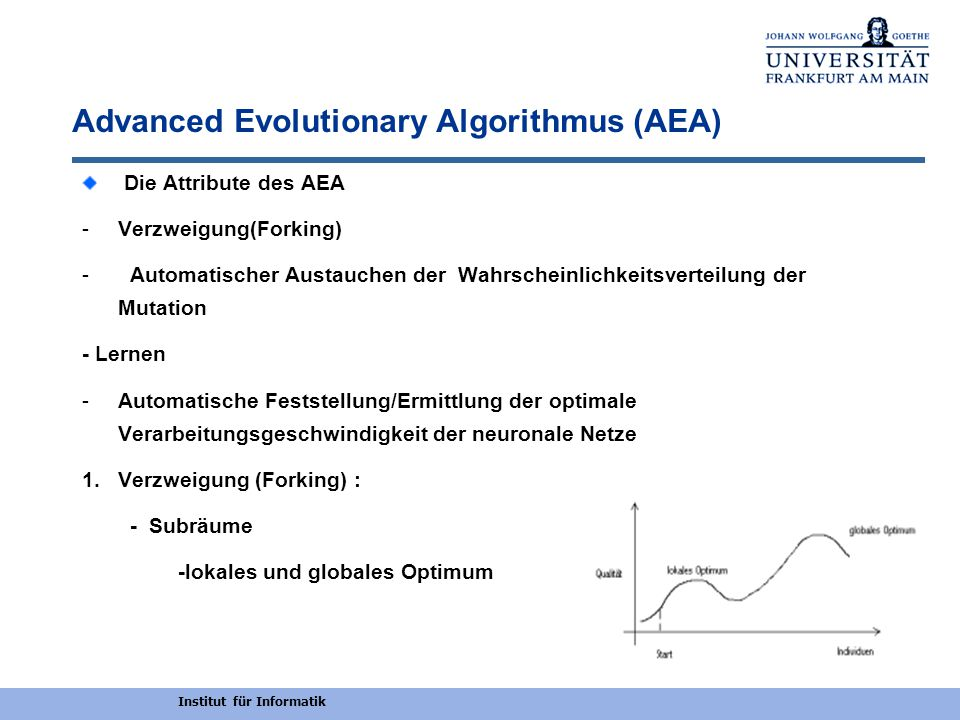 Advanced Evolutionary Algorithmus (AEA)