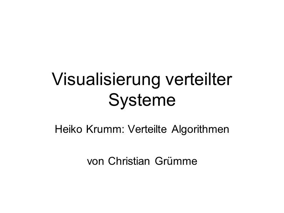 Visualisierung verteilter Systeme