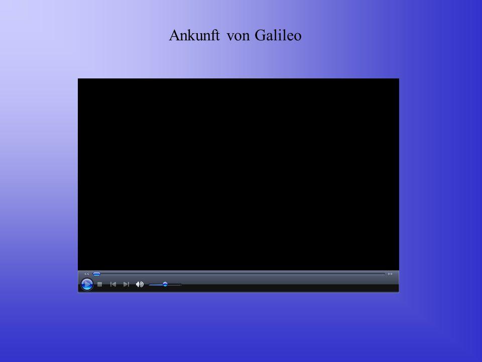 Ankunft von Galileo