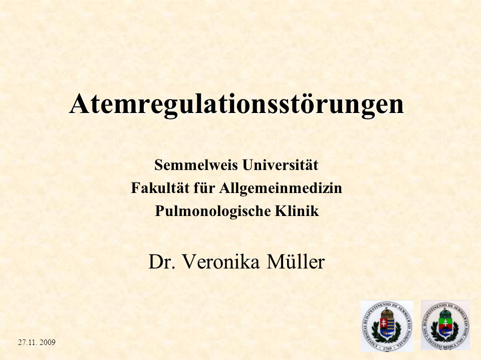 Atemregulationsstörungen