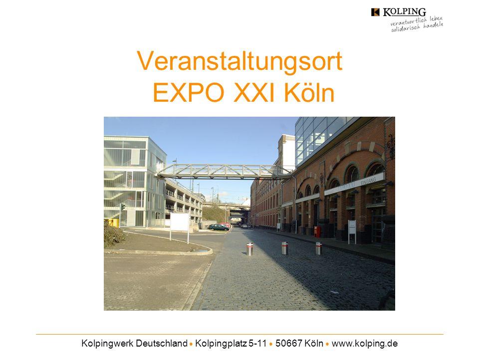 Veranstaltungsort EXPO XXI Köln