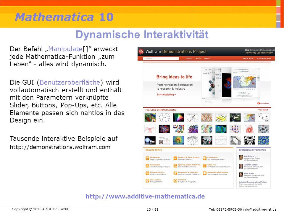 Dynamische Interaktivität