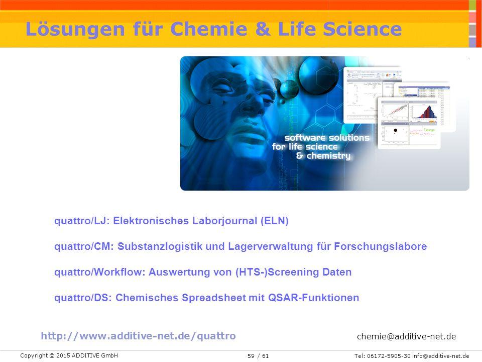 Lösungen für Chemie & Life Science