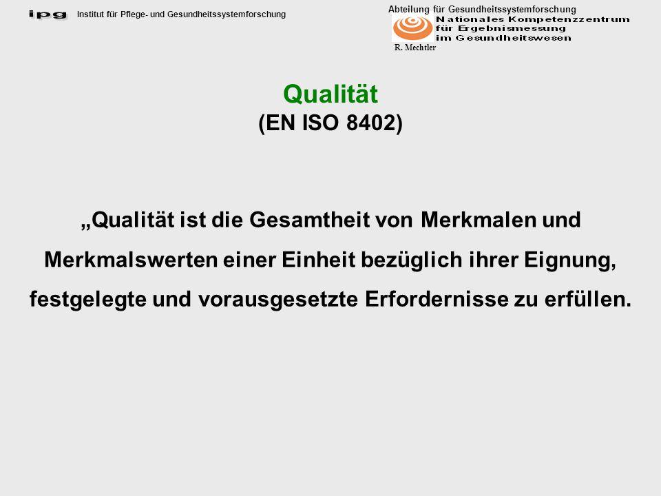 Qualität (EN ISO 8402)