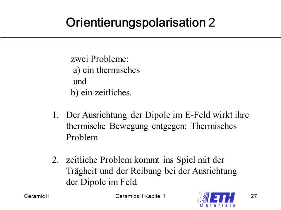 Orientierungspolarisation 2