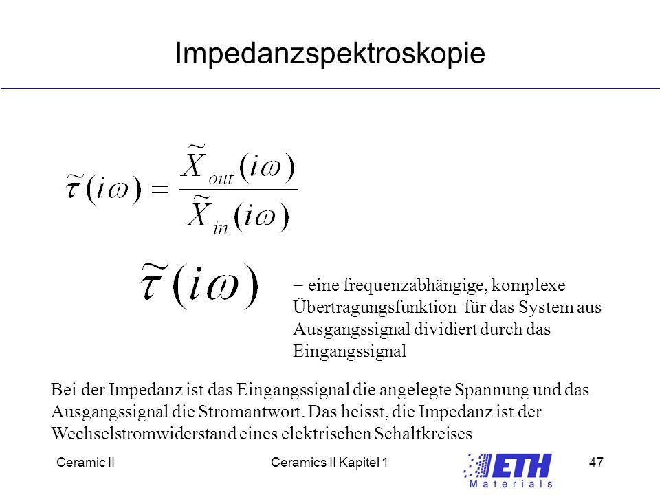 Impedanzspektroskopie