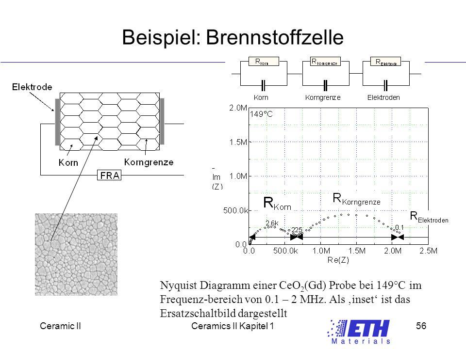 Beispiel: Brennstoffzelle