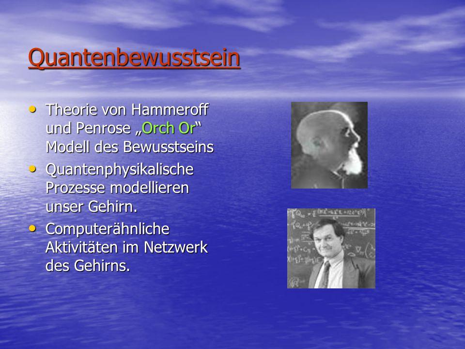 """Quantenbewusstsein Theorie von Hammeroff und Penrose """"Orch Or Modell des Bewusstseins. Quantenphysikalische Prozesse modellieren unser Gehirn."""