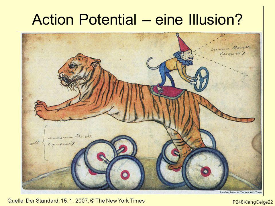 Action Potential – eine Illusion