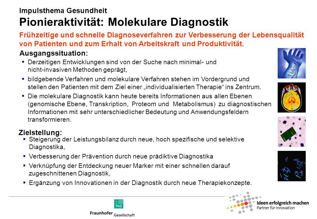 Pionieraktivität: Molekulare Diagnostik