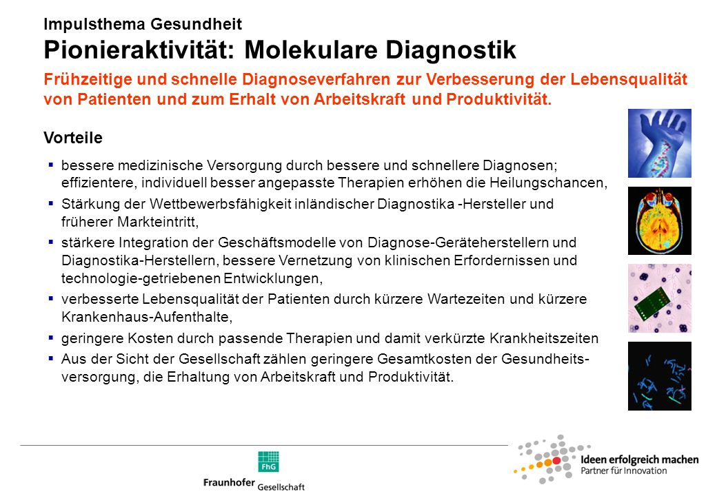 Innovationschancen für die Diagnostik
