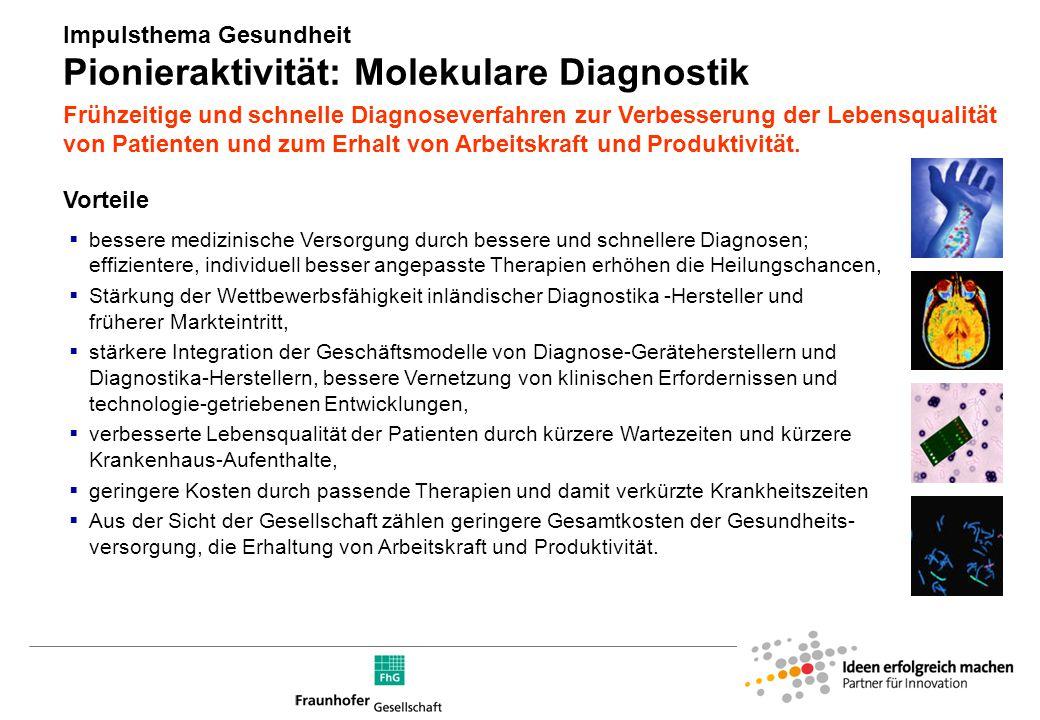 Innovationschancen für die Diagnostik