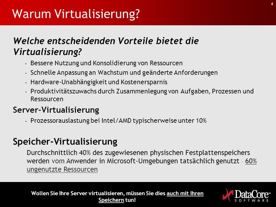 Warum Virtualisierung