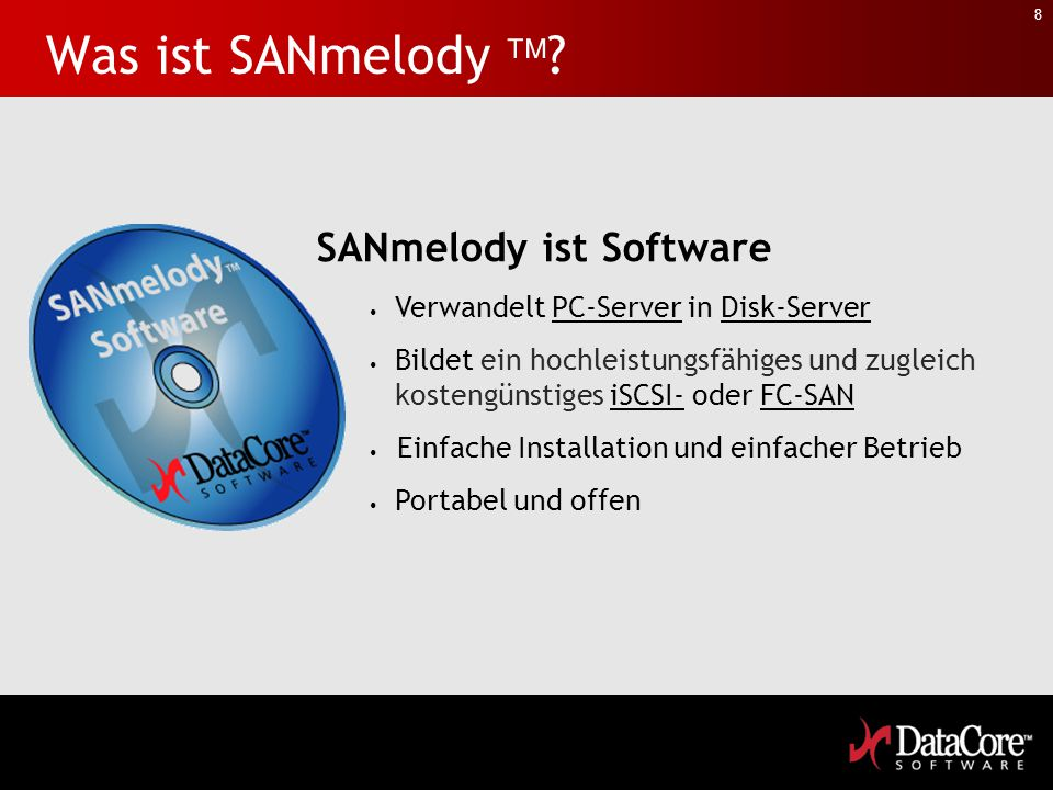 SANsymphony Product Introduction