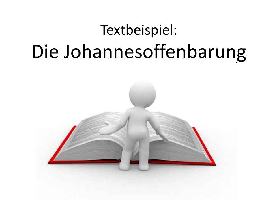 Textbeispiel: Die Johannesoffenbarung