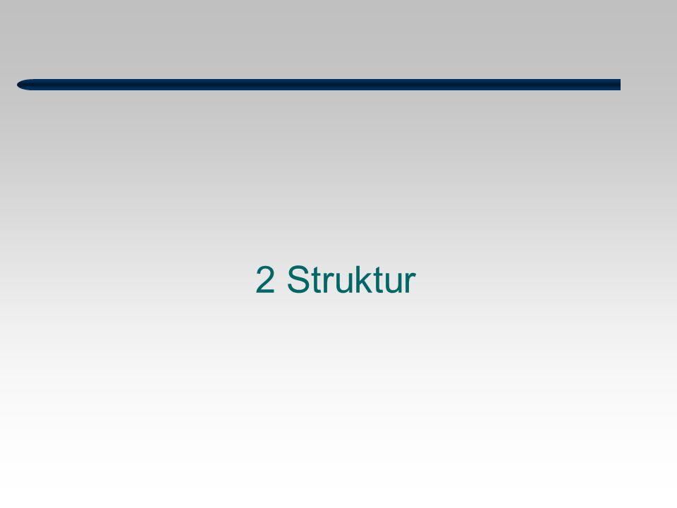 2 Struktur