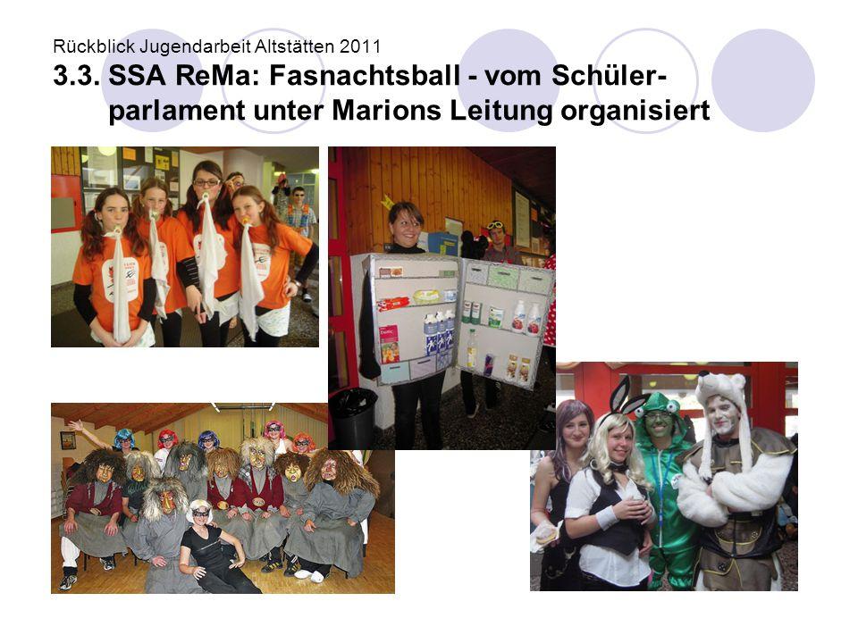 Rückblick Jugendarbeit Altstätten 2011 3. 3