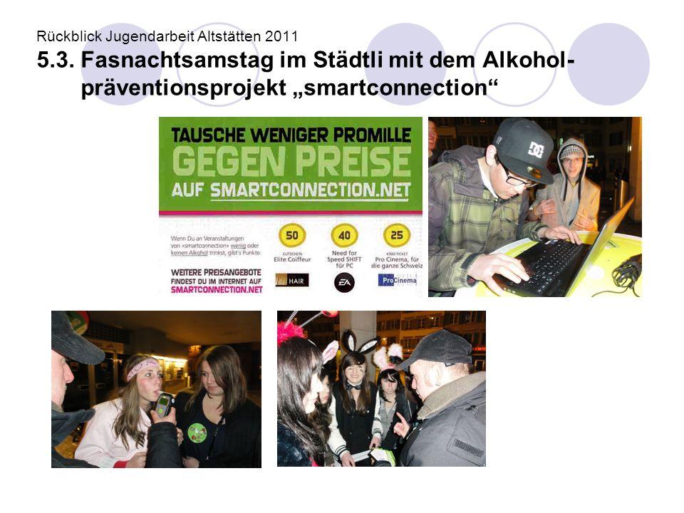 Rückblick Jugendarbeit Altstätten 2011 5. 3