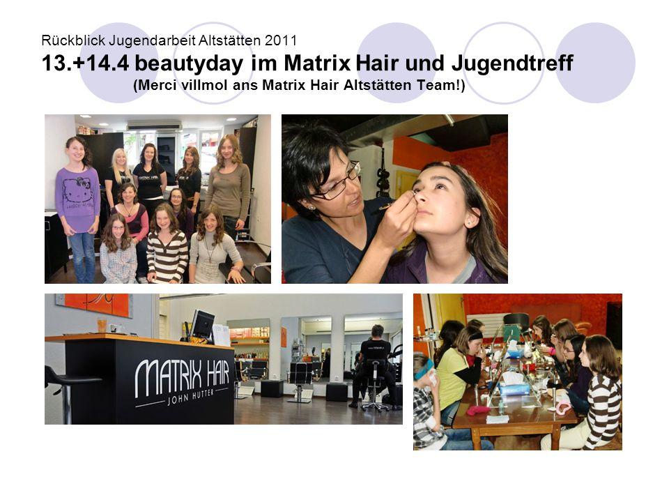 Rückblick Jugendarbeit Altstätten 2011 13. +14