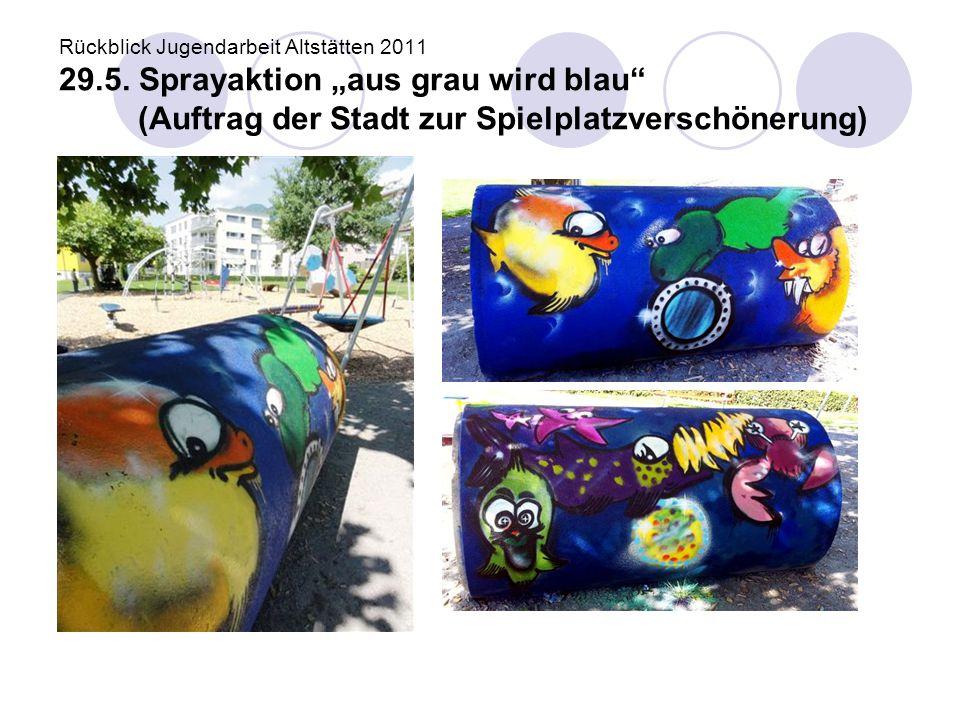 Rückblick Jugendarbeit Altstätten 2011 29. 5