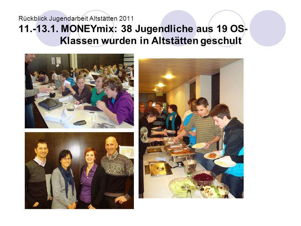 Rückblick Jugendarbeit Altstätten 2011 11. -13. 1