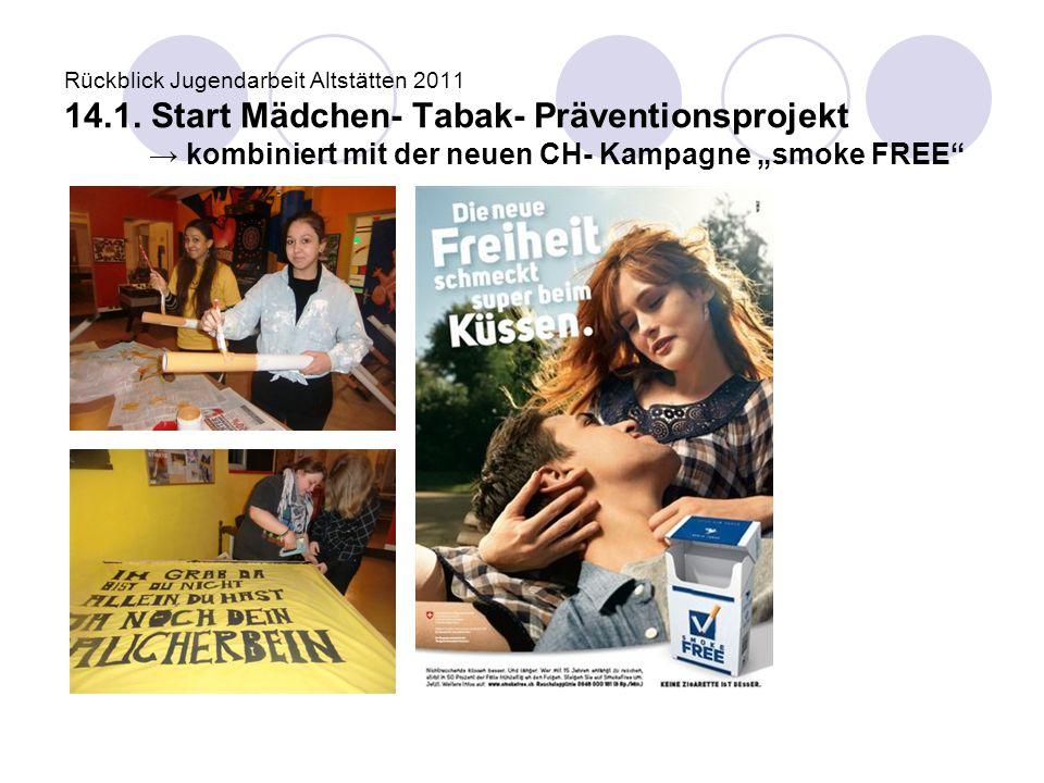 Rückblick Jugendarbeit Altstätten 2011 14. 1