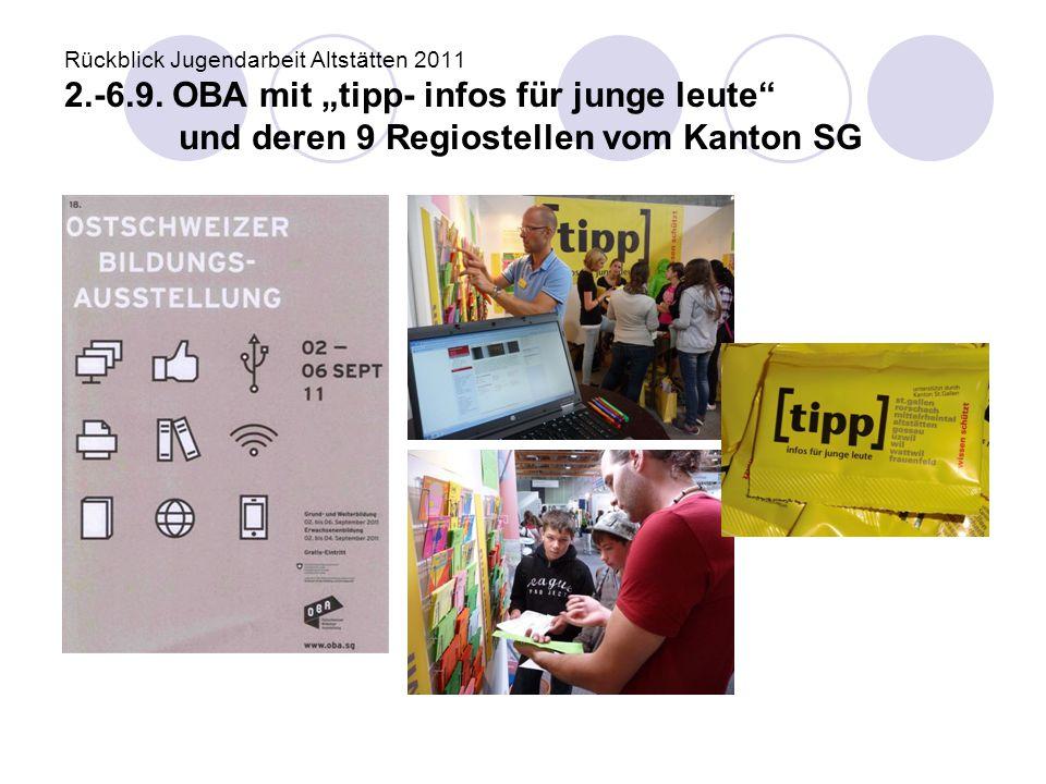 Rückblick Jugendarbeit Altstätten 2011 2. -6. 9