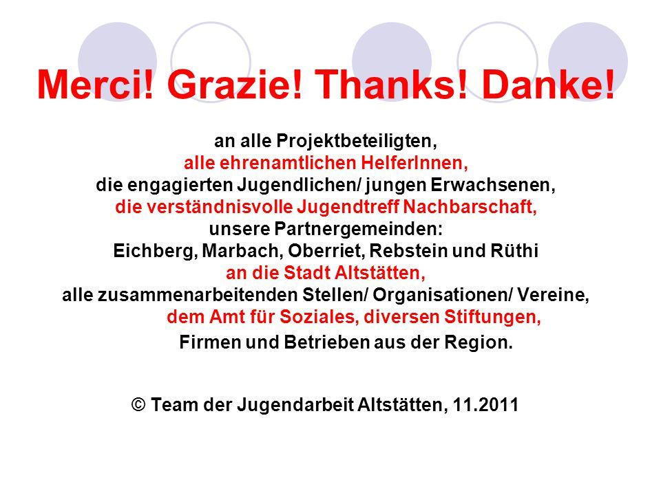 Merci! Grazie! Thanks! Danke!