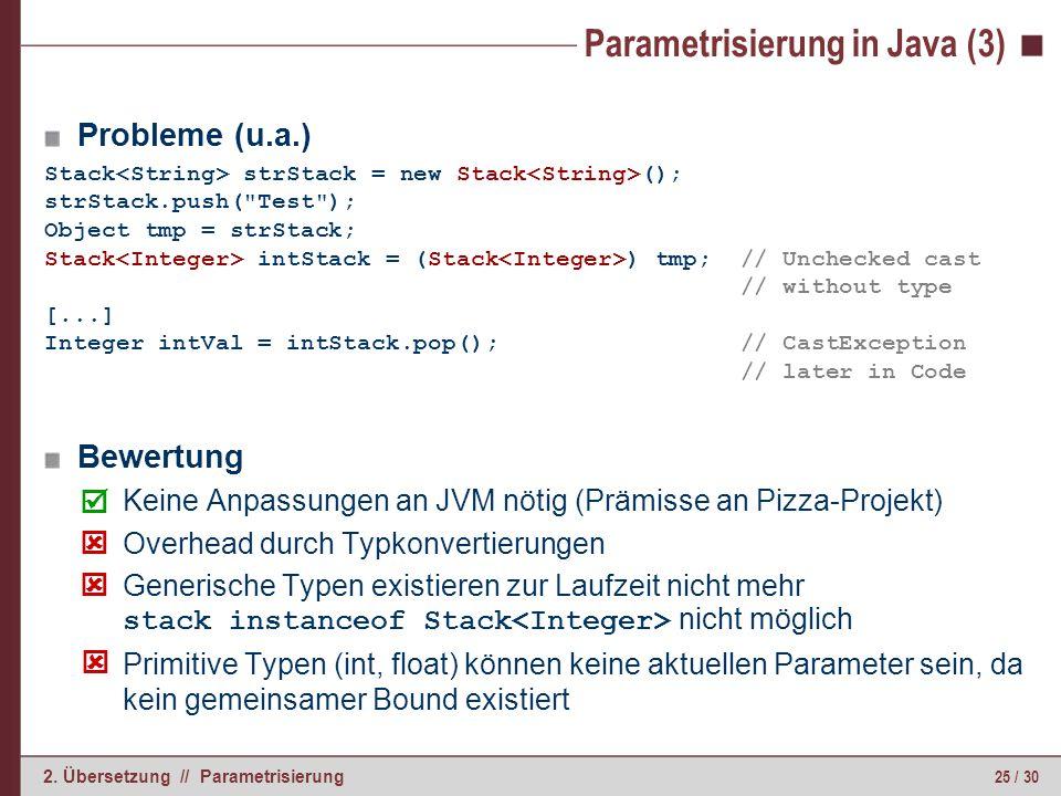 Parametrisierung in C# (1)