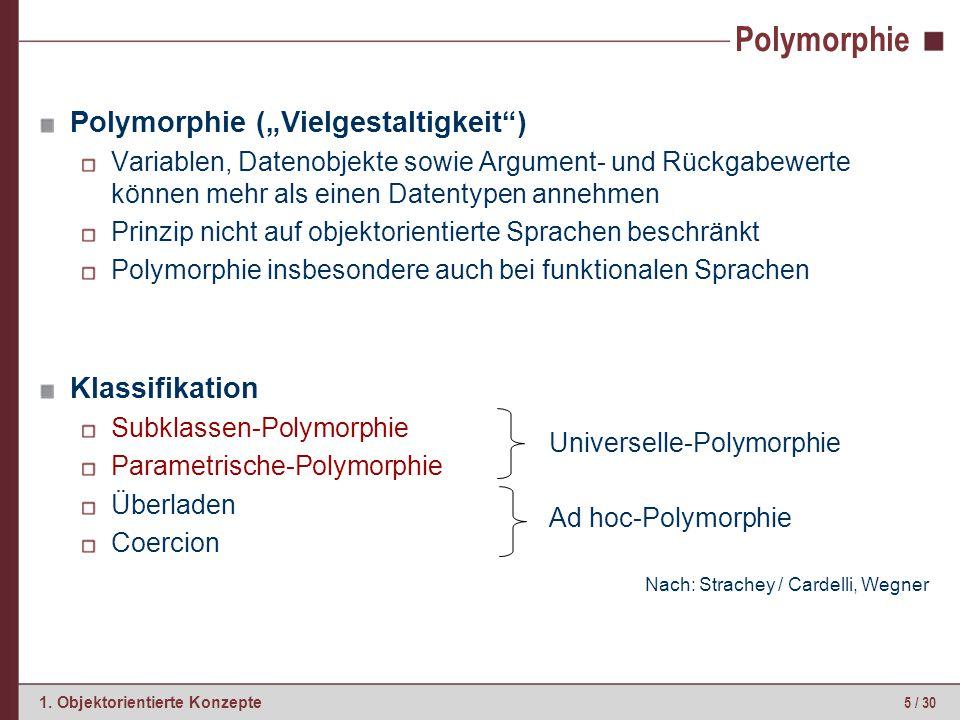 Subklassen-Polymorphie