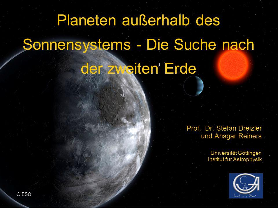 Planeten außerhalb des Sonnensystems - Die Suche nach der zweiten Erde