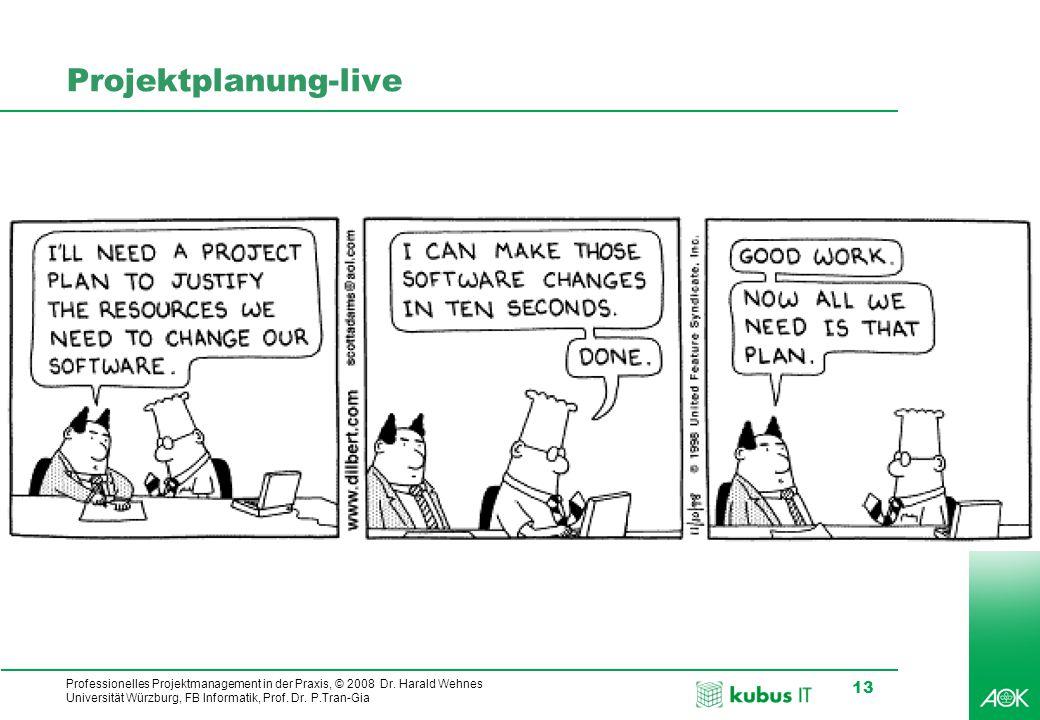 Projektplanung-live