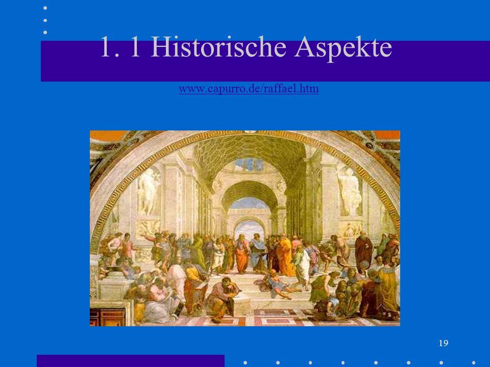 1. 1 Historische Aspekte www.capurro.de/raffael.htm