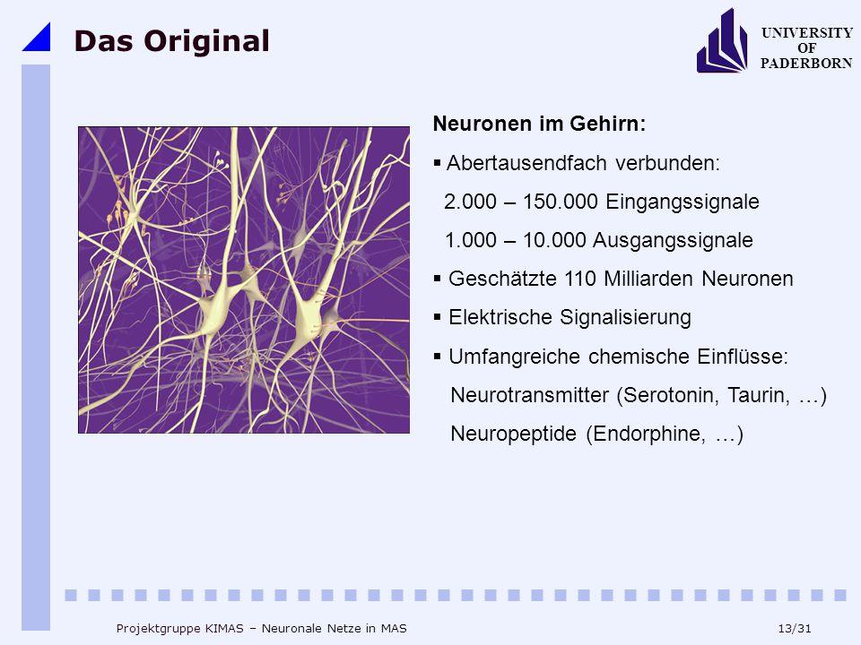 Das Original Neuronen im Gehirn: Abertausendfach verbunden: