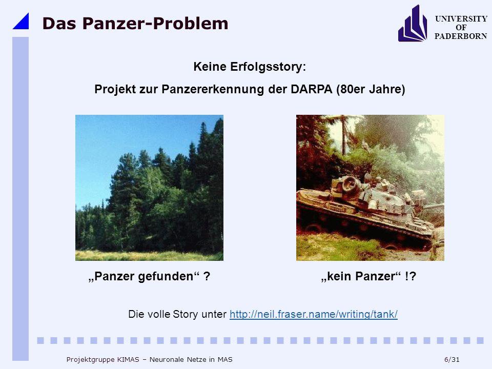 Projekt zur Panzererkennung der DARPA (80er Jahre)