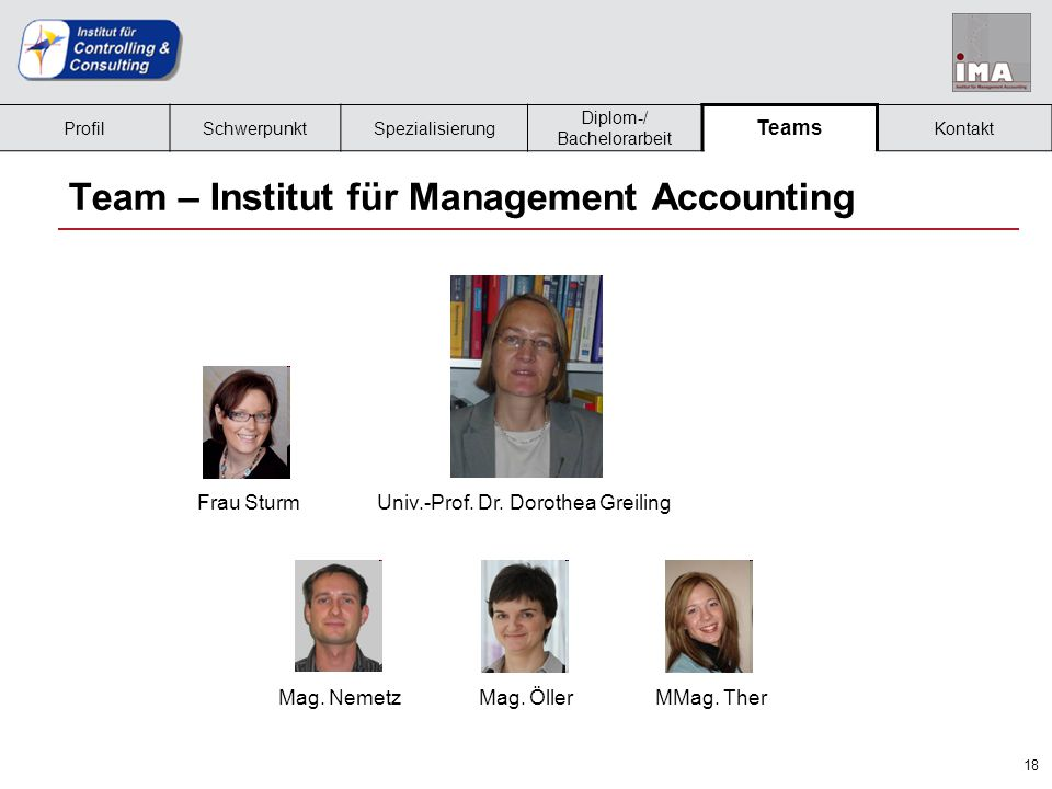 Team – Institut für Management Accounting