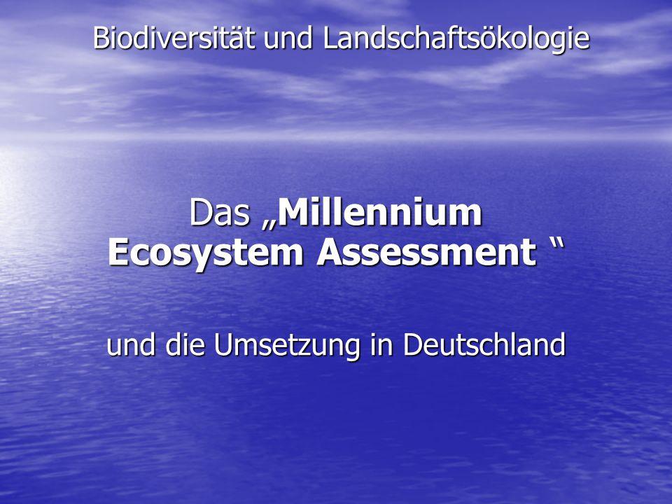 Biodiversität und Landschaftsökologie