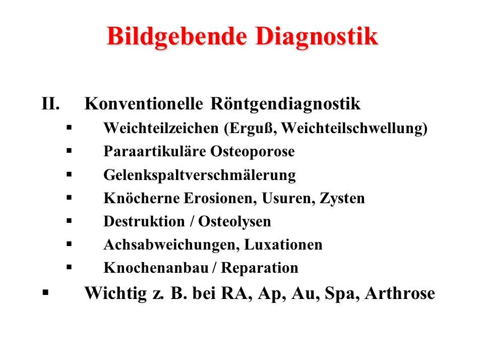 Bildgebende Diagnostik