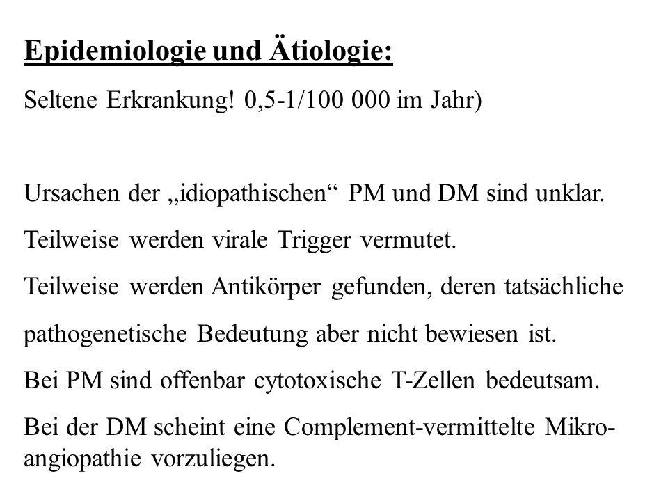 Epidemiologie und Ätiologie: