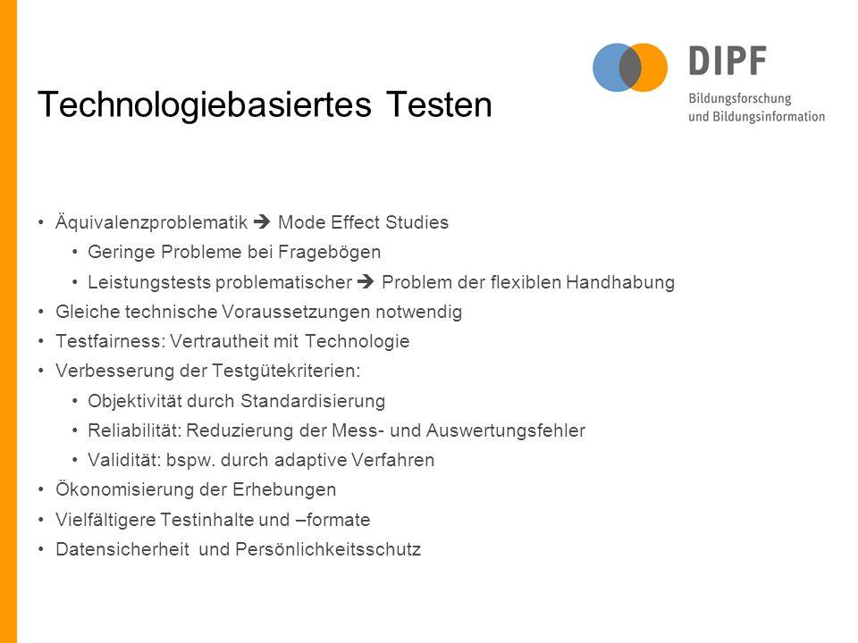 Technologiebasiertes Testen