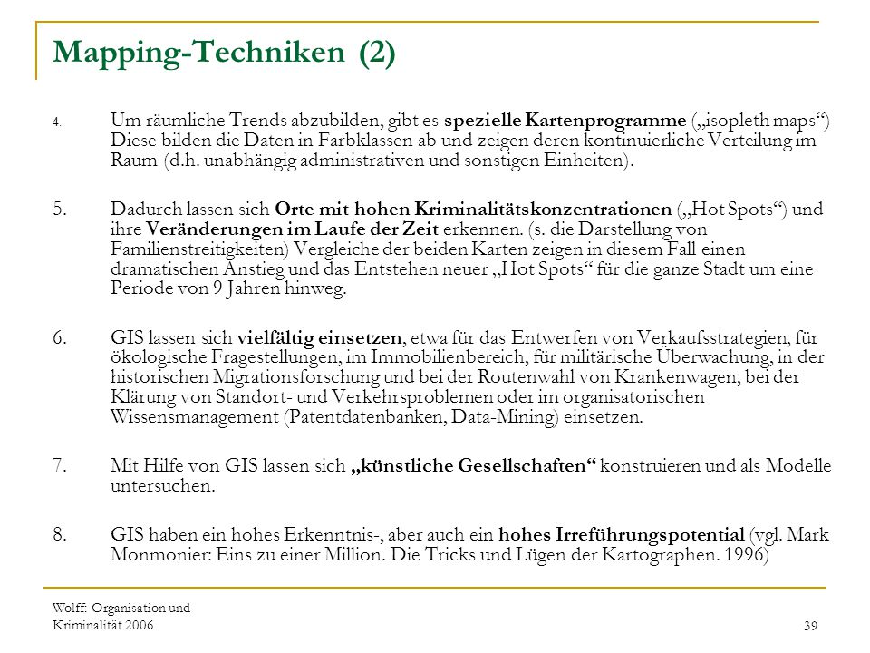 Mapping-Techniken (2)