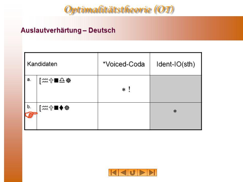 Auslautverhärtung – Deutsch