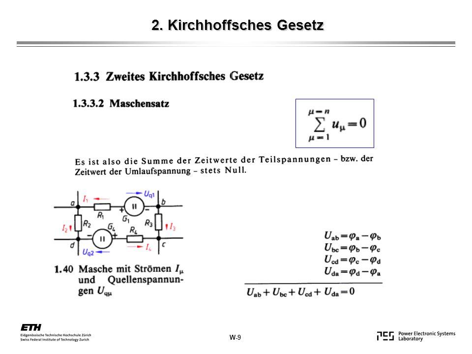 2. Kirchhoffsches Gesetz